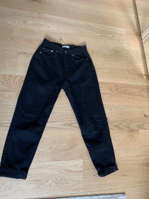 Pull & Bear Boyfriend jeans zwart