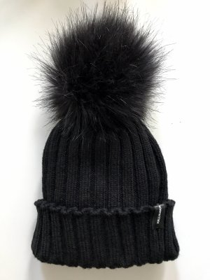 Hallhuber Fur Hat black