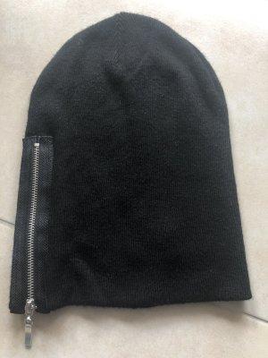 Schwarze Mütze mit Style
