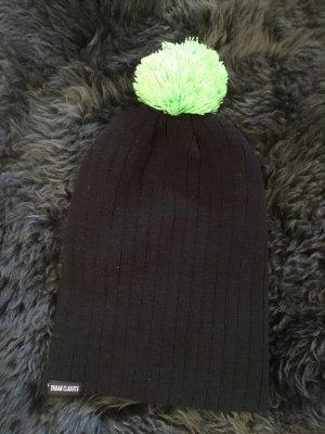 Schwarze Mütze One Size