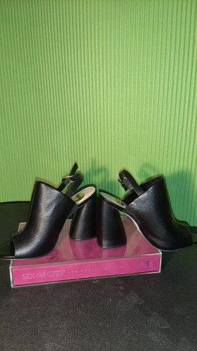 Schwarze Mules / Pantolette