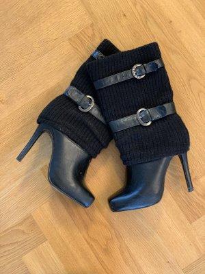 Schwarze Mustang Stiefel