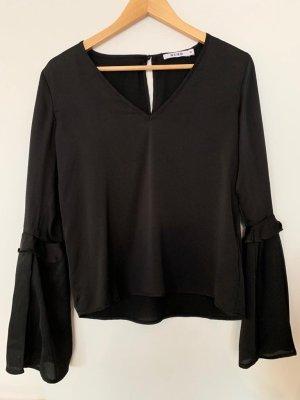 Schwarze NA-KD Bluse