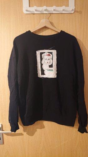 schwarze NA-KD Pullover