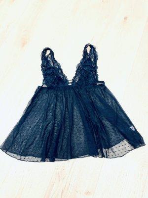 Hunkemöller Negligé zwart Acryl