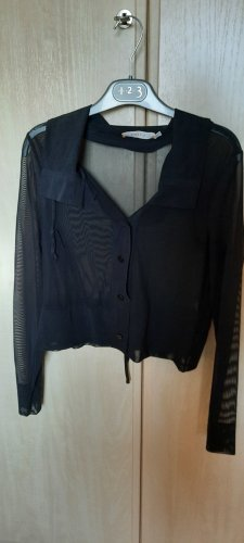 Biba Short Sleeve Knitted Jacket black polyamide
