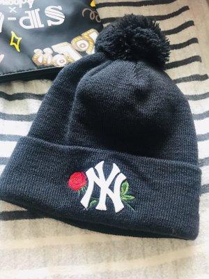 New Era Sombrero de punto negro
