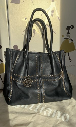Carry Bag black-gold-colored