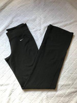 Schwarze Nike Dri-Fit Sporthose in Größe XS