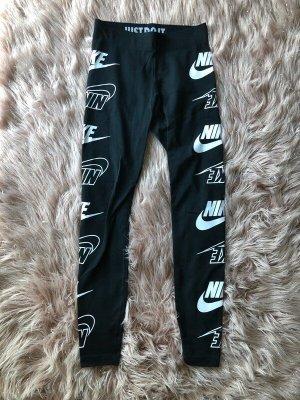 Schwarze Nike Leggings XS