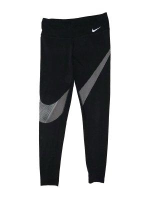 Schwarze Nike Sporthose mit Logo