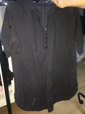 H&M Chemise à manches courtes noir