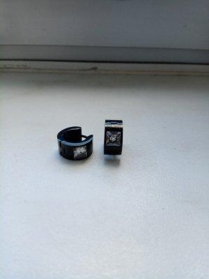 Oorclips zwart