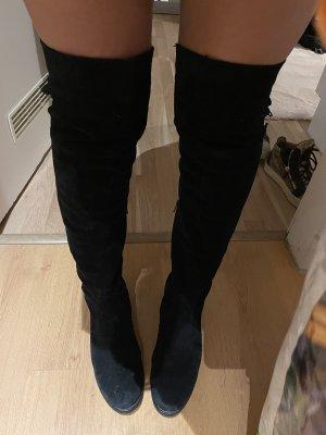 Zalando Kniehoge laarzen zwart