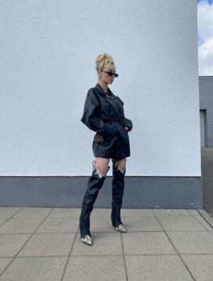 schwarze overknee Stiefel in Gr. 36
