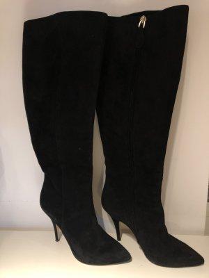 BALLY SUISSE Stivale cuissard nero