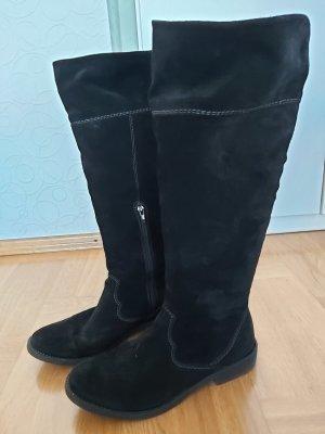 Tamaris Overknees black