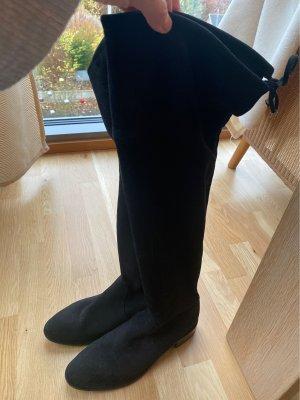 Pedro Miralles Kniehoge laarzen zwart