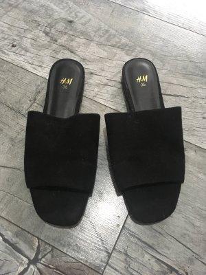 H&M Sabot noir