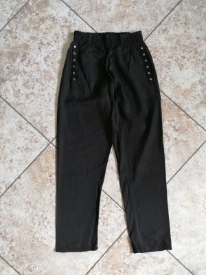 Chilli Paperbag Trousers black lyocell
