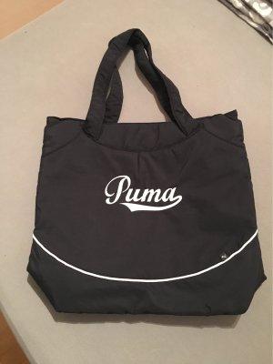 Puma Bolsa de gimnasio negro-blanco