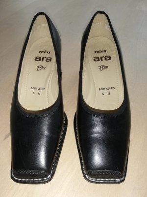 ara Chaussure décontractée noir cuir