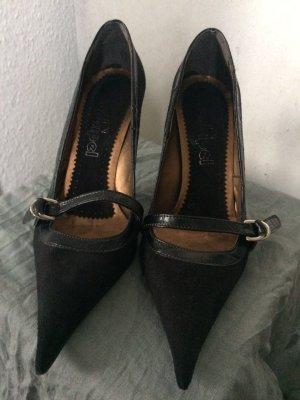conbipel Strapped pumps black leather