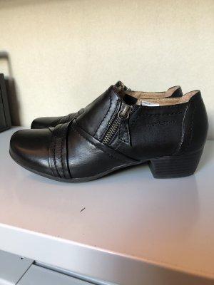 Hush Puppies Chaussure à talons carrés noir cuir