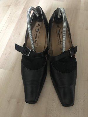 Tamaris Strapped pumps black leather