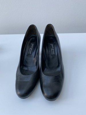 Paul Green Platform Pumps black leather