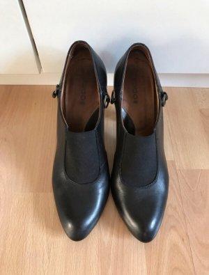 Schwarze Pumps/ Schuhe  mit Gummizug