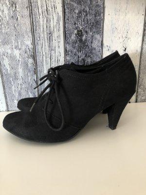 schwarze Pumps / Stiefeletten / High Heels von Graceland - Gr. 39