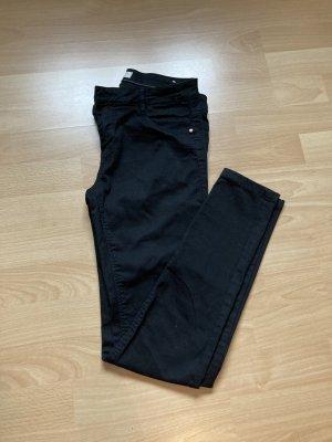 Pimkie Drainpipe Trousers black mixture fibre