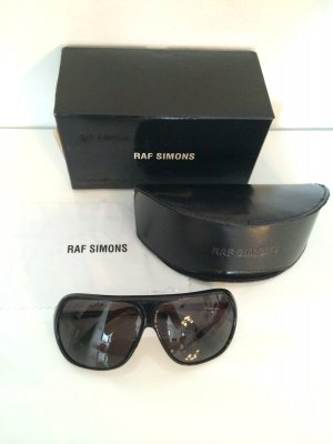 Schwarze Raf Simons Sonnenbrille NEU!