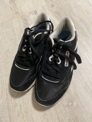 Reebok Zapatos de patinador negro-blanco