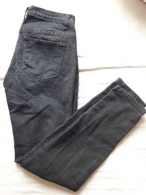 Forever 21 Jeansy biodrówki czarny