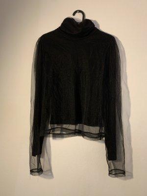 unbekannte Turtleneck Shirt black