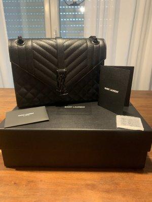 Schwarze Saint Laurent Tasche