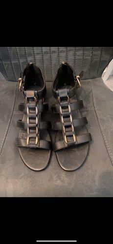 Graceland Sandały rzymskie czarny-złoto