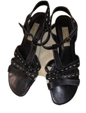Schwarze Sandalen, Gr. 40