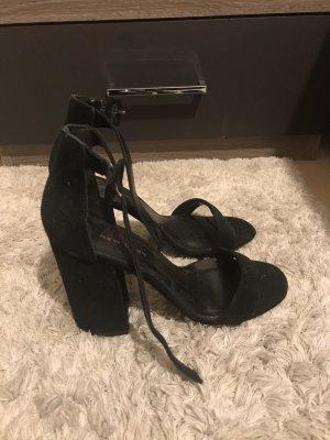 New Look Sandalias de tacón alto negro