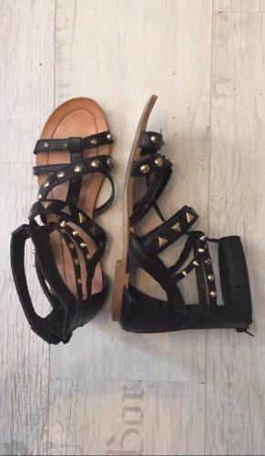 Pimkie Romeinse sandalen zwart-goud