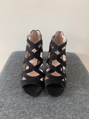 Schwarze Sandalen Sandaletten Neu