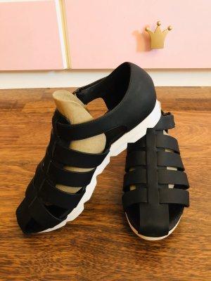 Calvin Klein Outdoor Sandals white-black