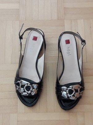 schwarze Sandalen von Högl