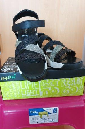 schwarze Sandalen von LIMELIGHT