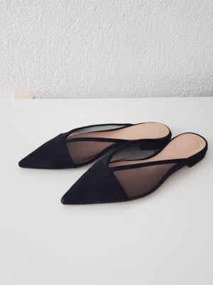 schwarze Sandalen von ZARA
