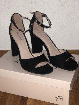 Schwarze Sandaletten von Anna Field