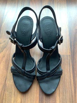 Schwarze Sandaletten von Esprit