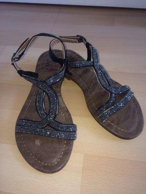 Schwarze Sandaletten von Miss Me